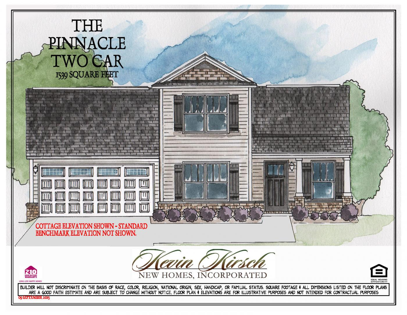 the two car floor plans kevin kirsch homes
