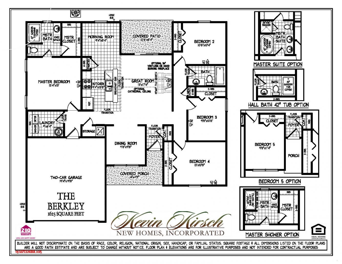 the berkley floor plans kevin kirsch homes