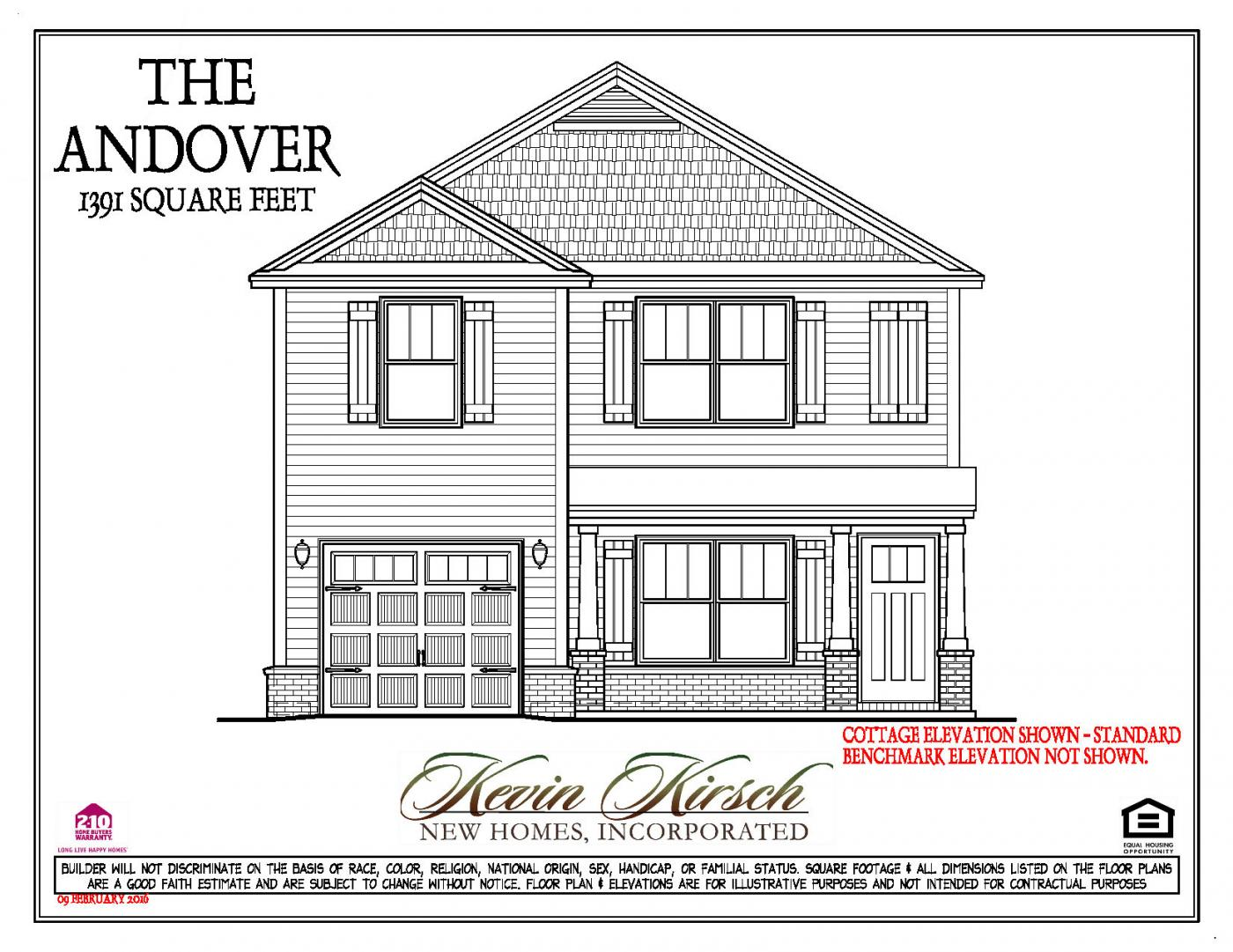 the andover floor plans kevin kirsch homes