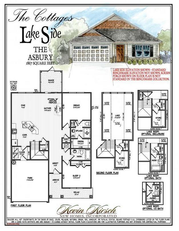 Floor Plans Photo Gallery New Homes In Savannah GA Kevin - Floor Plans For New Homes